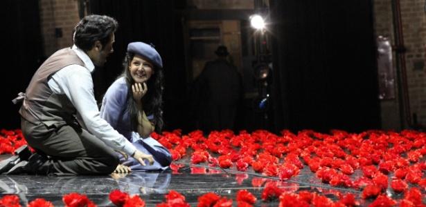 """""""La Bohème"""", de Giacomo Puccini, durante temporada de 2013 do Theatro Municipal de São Paulo - Divulgação"""