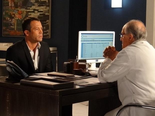 """Em """"Amor à Vida"""", Lutero questiona Bruno sobre morte de Luana e desconfia ainda mais de Glauce"""