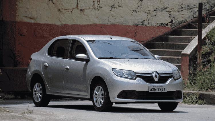 Renault Logan - Murilo Goes/UOL - Murilo Goes/UOL
