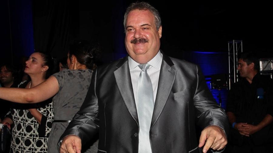 "O apresentador Gilberto Barros comandou o ""Boa Noite, Brasil"" na Band - Manuela Scarpa/Foto Rio News"