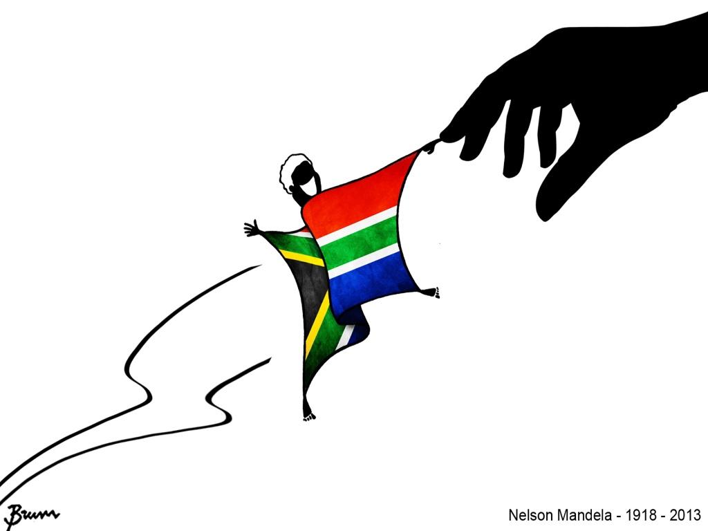 Charge aponta caráter conciliatório do líder sul-africano Nelson Mandela
