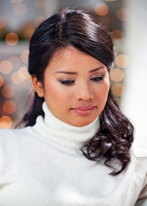 Quando só os aspectos ruins do ano são evidenciados a tristeza aparece - Thinkstock