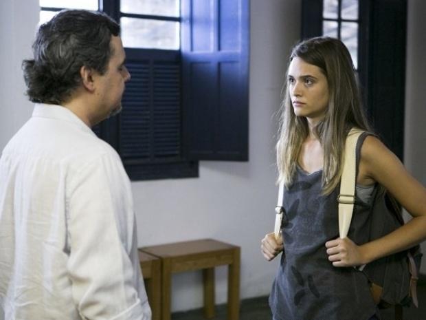"""Em """"Além do Horizonte"""", Lili defende volta de William ao Grupo"""