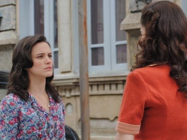 """Em """"Joia Rara"""", Amélia ameaça levar Zefa à polícia após descobrir armação"""