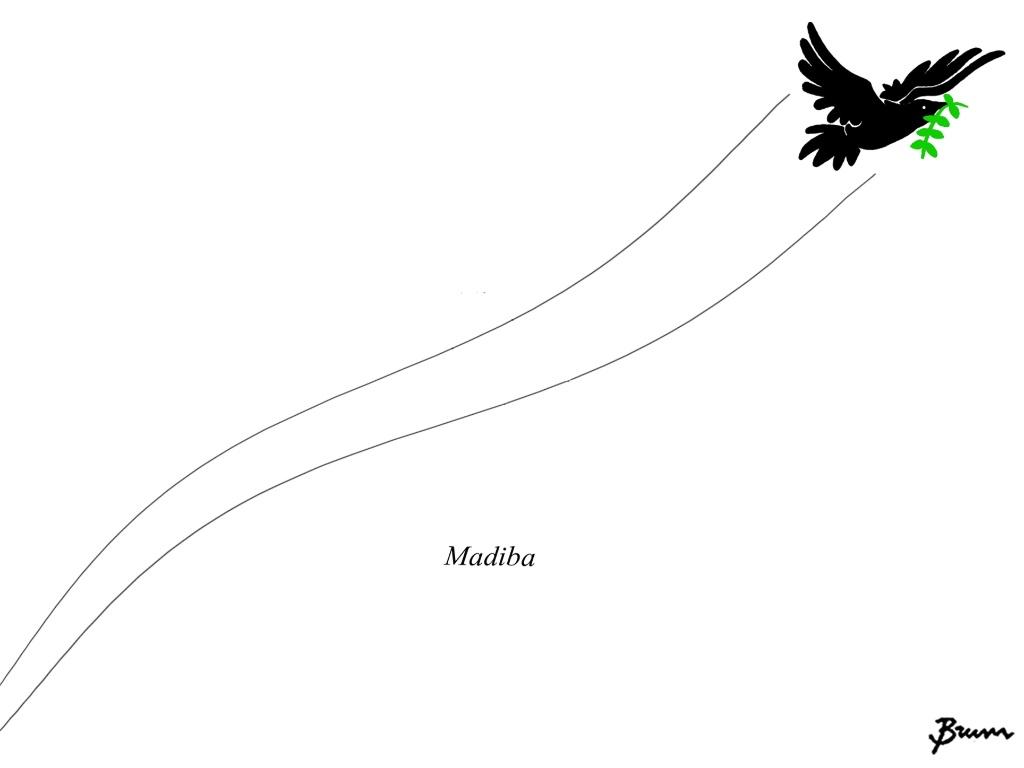 Homenagem final de Brum a Nelson Mandela