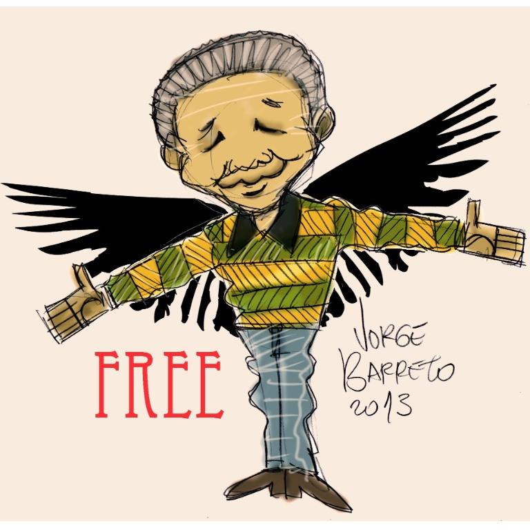 Mandela, livre para voar