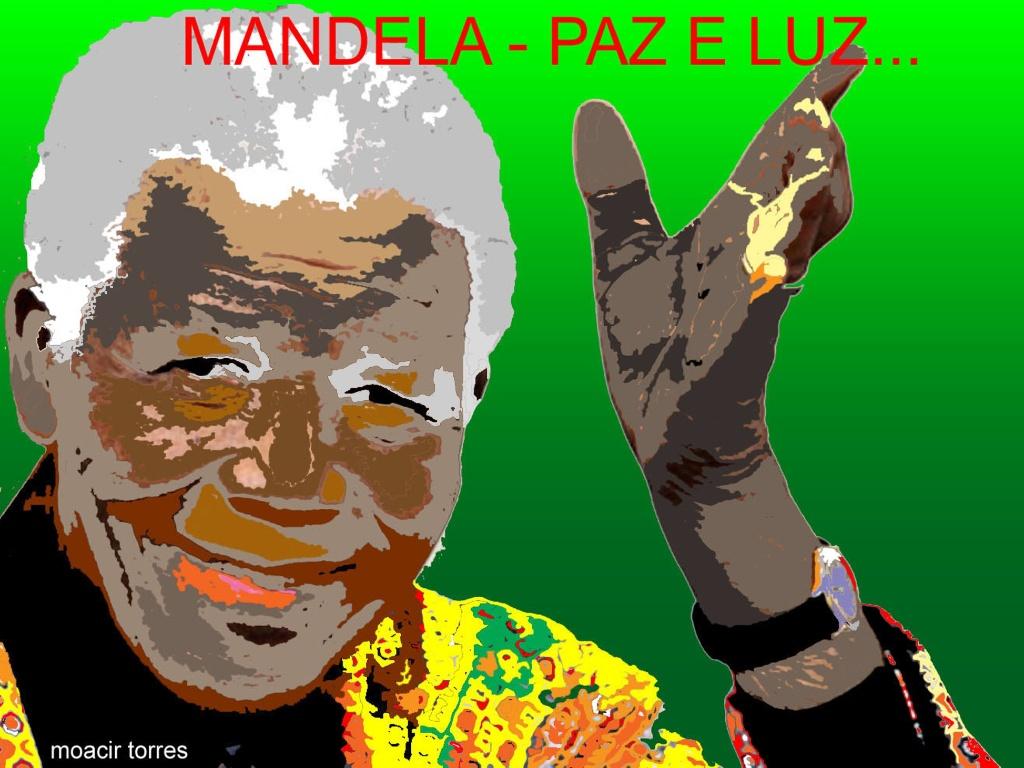 O adeus a Mandela por Moacir Torres