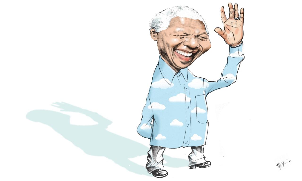 O adeus de Nelson Mandela