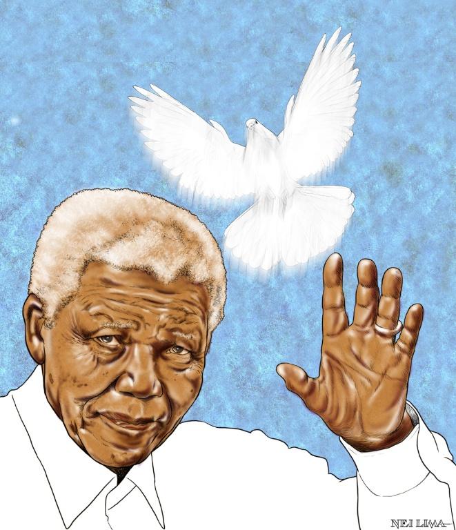 Outra homenagem de Nei Lima a Mandela
