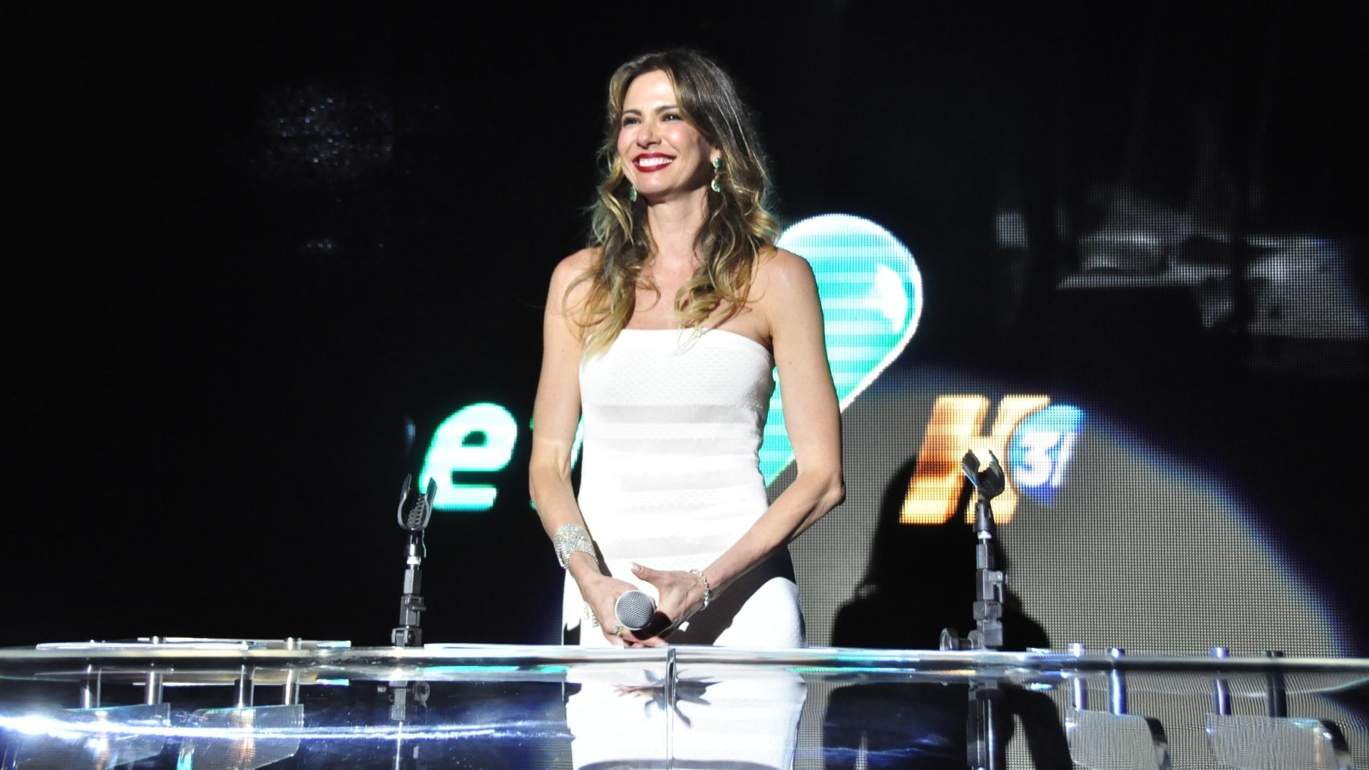 2013 - A apresentadora Luciana Gimenez
