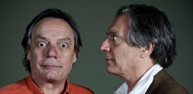 Os irmãos Paulo e Chico Caruso - Adriano/Vizoni/Folhapress/11.nov.2011