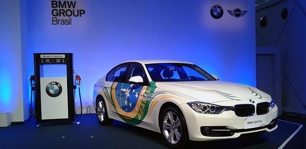 BMW 320i ActiveFlex será feito no Brasil; motor turboflex deve se espalhar pelo resto da gama brasileira - Leonardo Felix/UOL