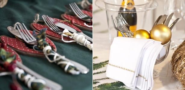 Para as duas datas festivas, uma opção é escolher talheres de inox que são bonitos e de preço acessível - Divulgação