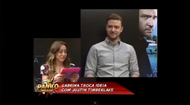 Em setembro de 2013, Sabrina Sato entrevista Justin Timberlake e entregou em seguida um molde autografado do seu bumbum para o astro internacional