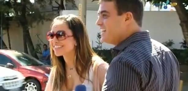 Ex-namorados, Sabrina Sato e Dhomini se reencontram em quadro do programa 'Pânico na TV'