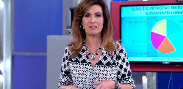 A jornalista Fátima Bernardes