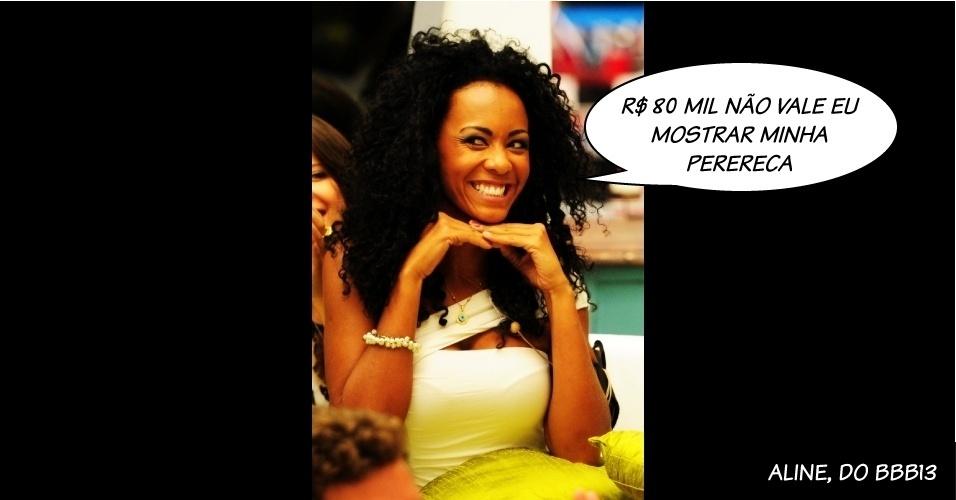 """Aline, participante do """"BBB13"""""""
