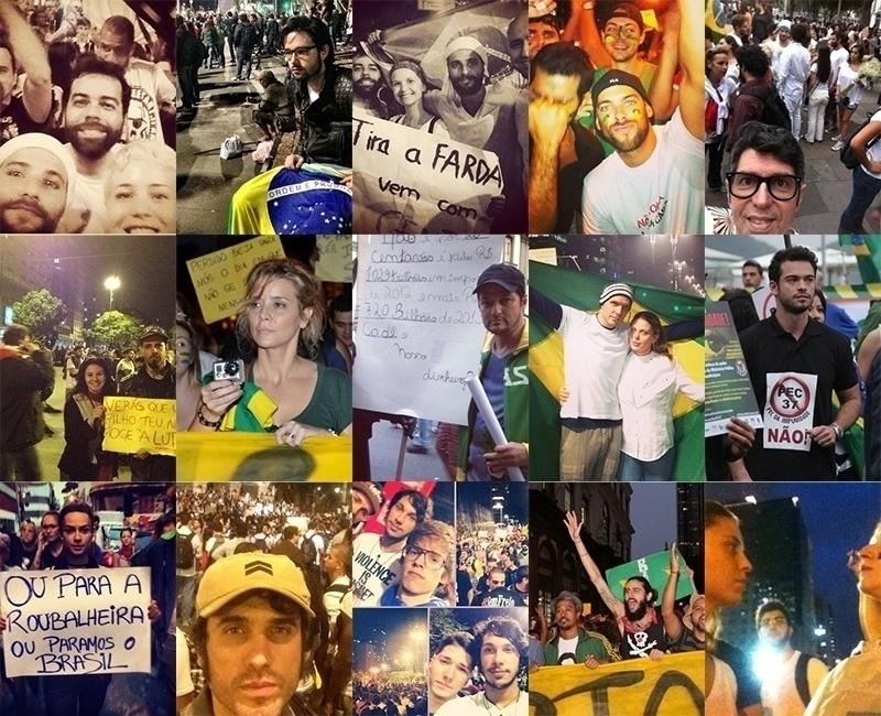 Num ano marcado por manifestações pelo país, relembre os famosos engajados