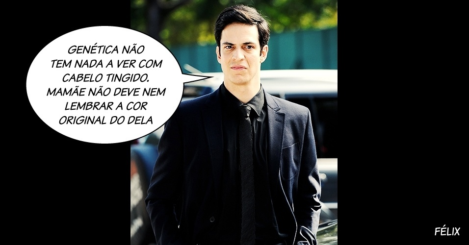 """Félix, vilão interpretado por Mateus Solano na novela """"Amor à Vida"""", da Globo"""