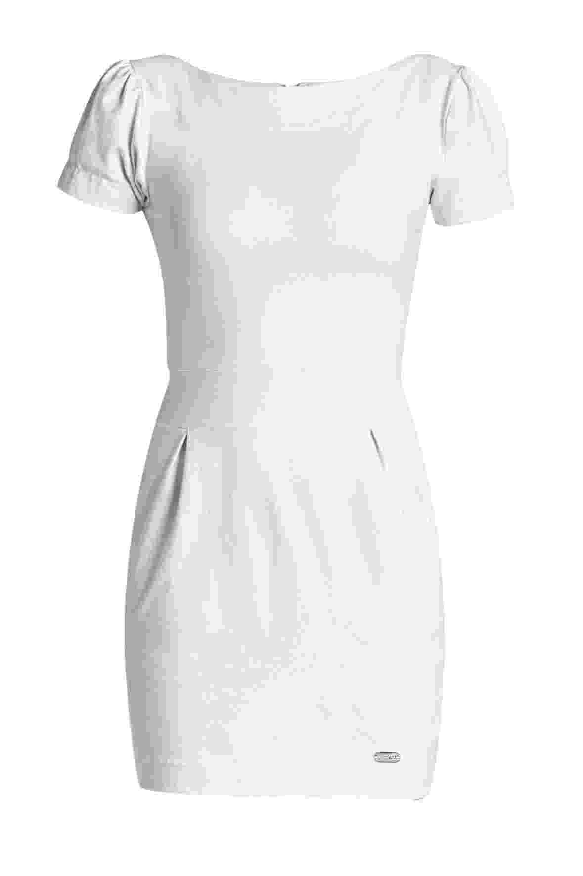 Vestido de algodão com pregas; R$ 69,99, da Quintess para Posthaus.com (www.posthaus.com.br) Preço pesquisado em dezembro de 2013 e sujeito a alterações - Divulgação