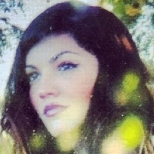 A atriz Mariana Cortines