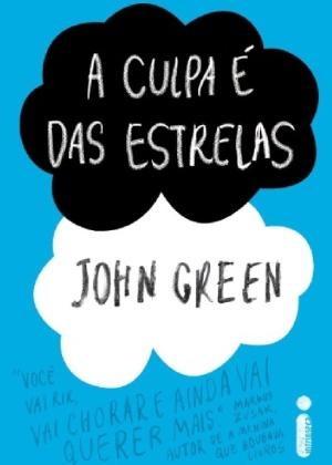 """Capa de """"A Culpa é das Estrelas"""", de John Green - Divulgação"""