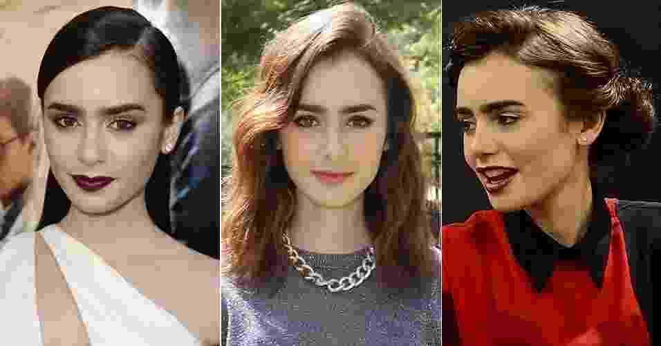 Currículo da beleza: Lily Collins - Getty Images