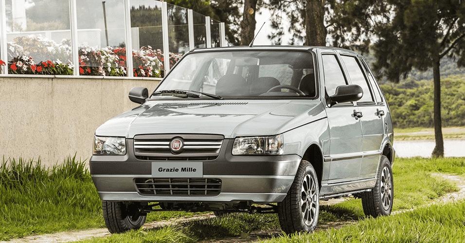 Fiat Grazie Mille - Divulgação