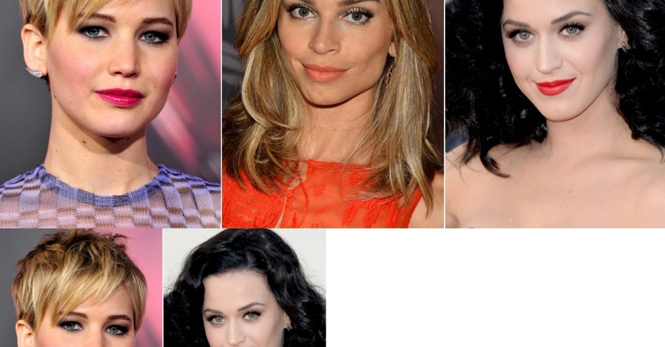 Jennifer Lawrence, Grazi Massafera e Katy Perry