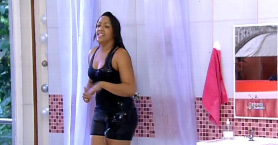 """A goiana Tâmara Dilly cantou a música """"Dançando"""", de Ivete Sangalo, e levou o prêmio de R$ 5 mil, com 54%"""