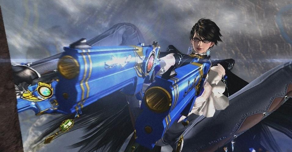 """Ao contrário de seu predecessor, lançado para Xbox 360 e PS3 em 2010, """"Bayonetta 2"""" será um exclusivo do Wii U"""