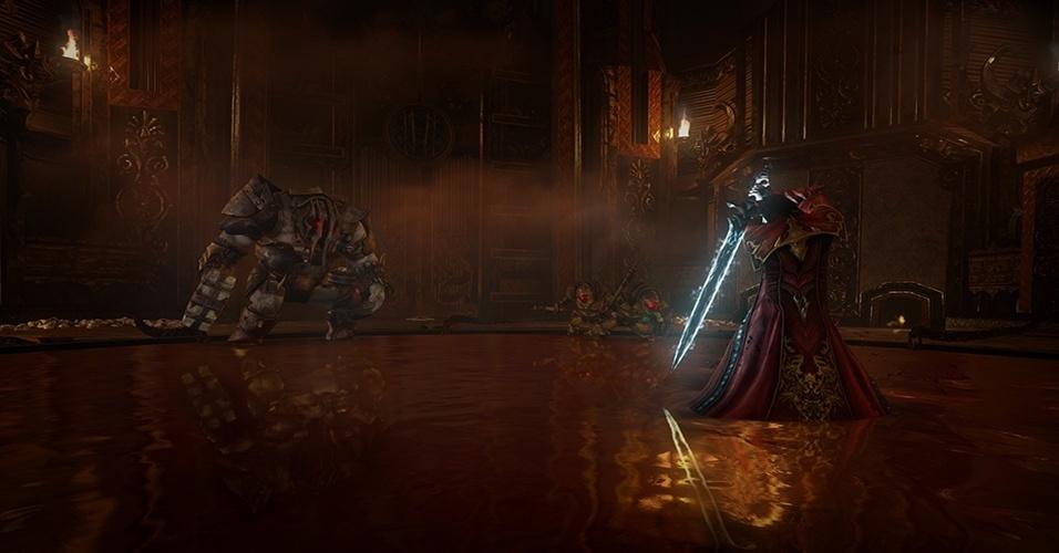"""""""Castlevania: Lords of Shadow 2"""" (Windows, PS3, X360) continua a história de Gabriel Belmont, agora com poderes sobrenaturais"""