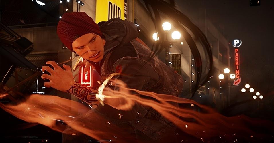 """Com novo protagonista, poderes e ambientado em Seattle, """"inFamous: Second Son"""" é um dos exclusivos mais esperados do PS4"""