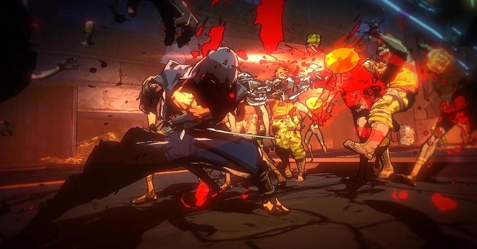 "Com visual estilizado e envolvimento do criador de ""Mega Man"", ""Yaiba: Ninja Gaiden Z"" (Windows, PS3, X360, iOS) traz como protagonista ninja ressucitado que procura matar o heroi Ryu Hayabusa"
