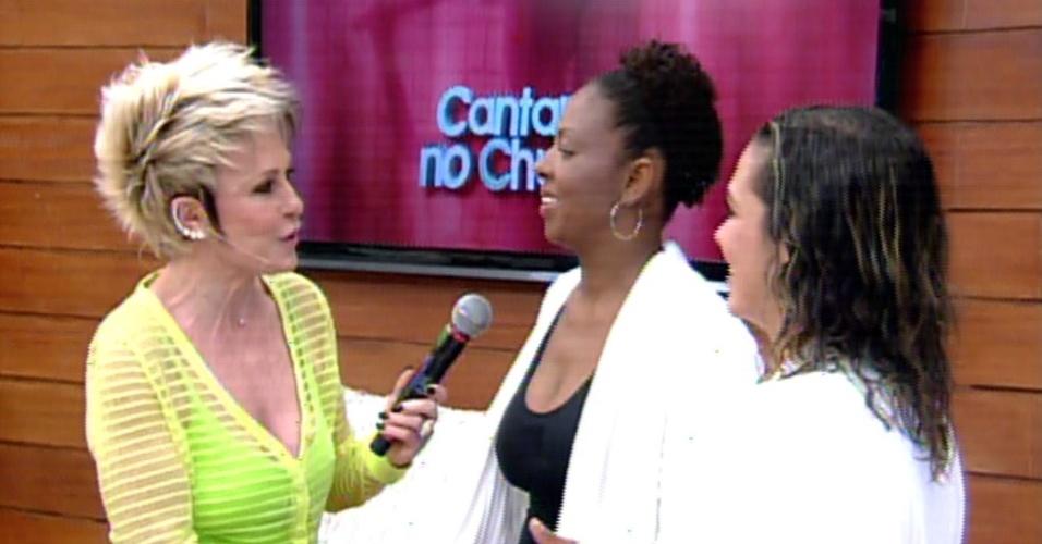 Darlene e Silvana foram eliminadas por Lulu Santos, Carlinhos Brown, Claudia Leitte e Daniel