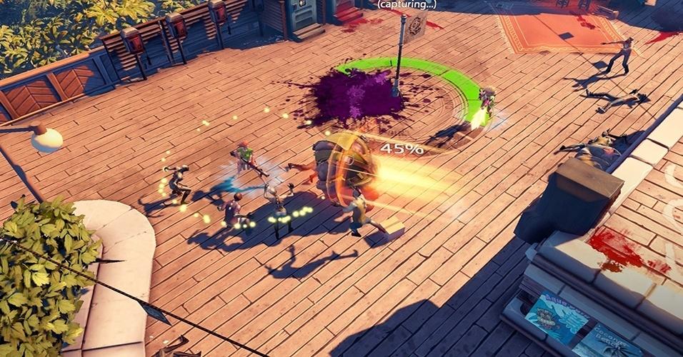 """""""Dead Island: Epidemic"""" muda a fórmula da série, sendo um MOBA ao invés de um jogo de tiro em primeira pessoa"""