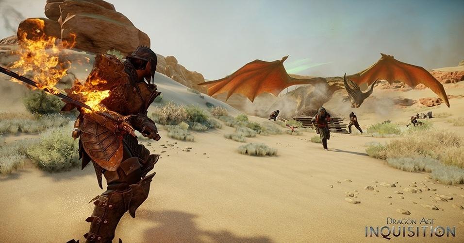 """Depois da recepção mista de """"Dragon Age 2"""", a Bioware tem a chance de reconquistar seu público em dúvida com """"Dragon Age: Inquisition"""" (Windows, PS3, PS4, X360, XBO)"""