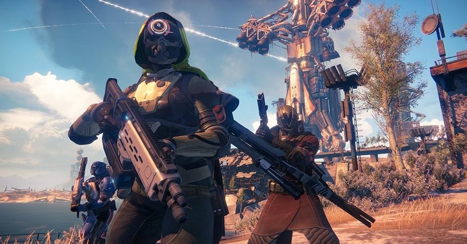 """""""Destiny"""", da Bungie Studios, mistura elementos da série """"Halo"""" com exploração em mundo aberto ao estilo de """"Borderlands"""""""