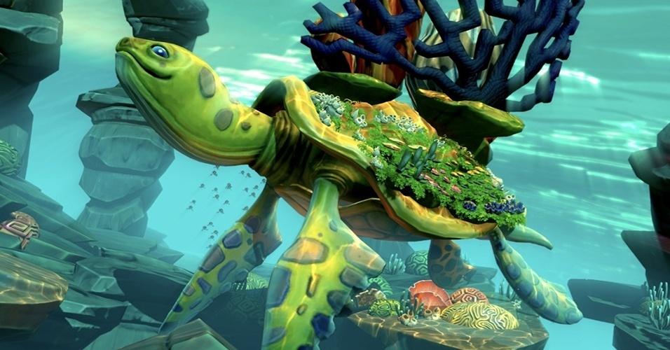 """""""Fantasia: Music Evolved"""", exclusivo para Xbox 360 e One e do mesmo estúdio de """"Dance Central, mistura música contemporânea com as animações do estúdio Disney"""