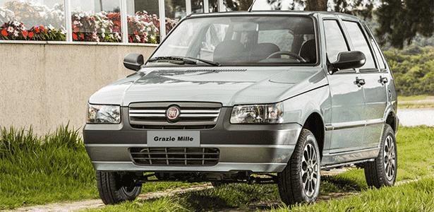 Fiat Grazie Mille  - Divulgação - Divulgação