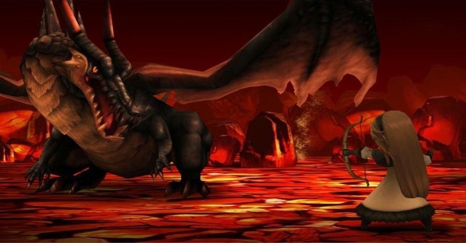 """Mais de um ano após seu lançamento no Japão, """"Bravely Default"""" chega ao 3DS Ocidental com sistema de """"Final Fantasy V"""" e artista de """"FF Tactics"""""""