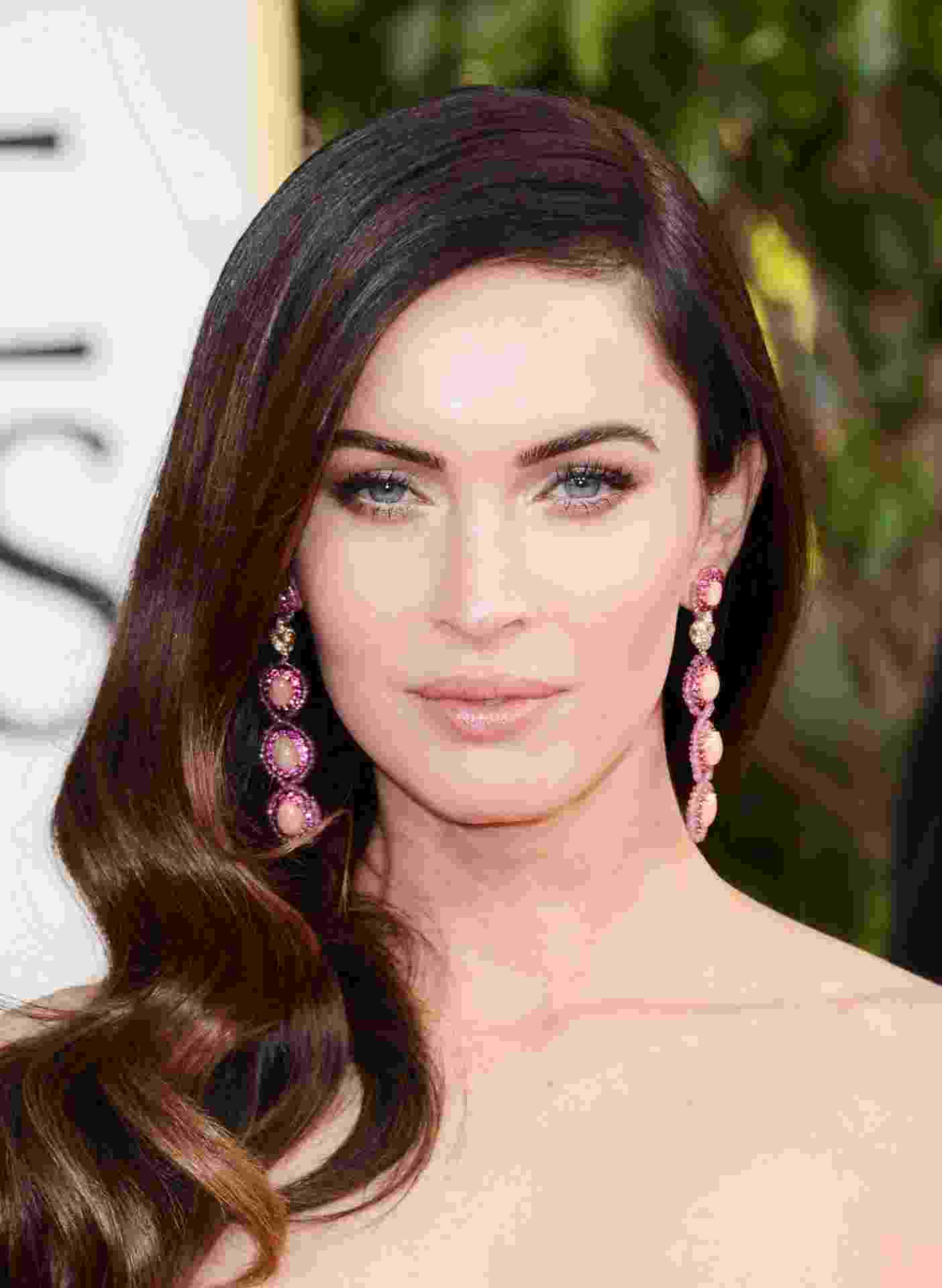 Megan Fox - Duelo Make Dourado - Getty Images