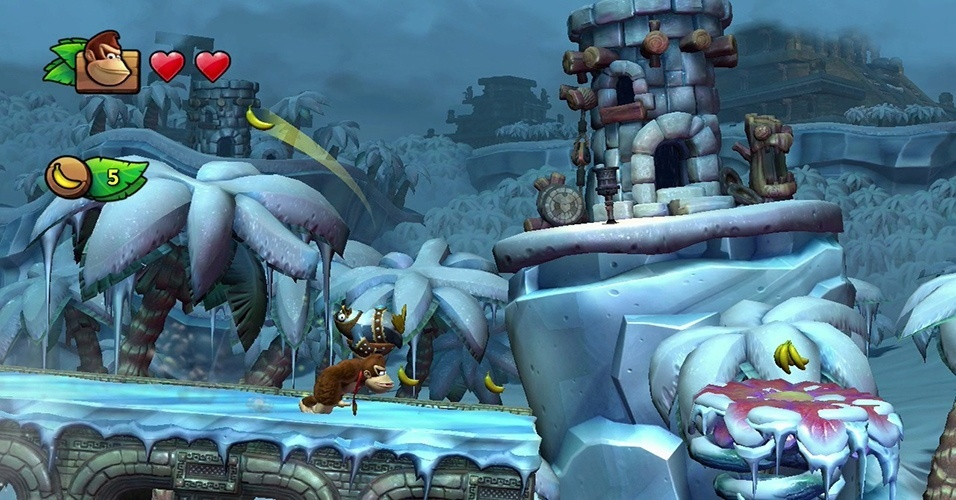 Novo jogo de Donkey Kong é o grande lançamento do Wii U no início de 2014, levando o gorilão e seus amigos a reconquistarem sua ilha de Vikings invasores