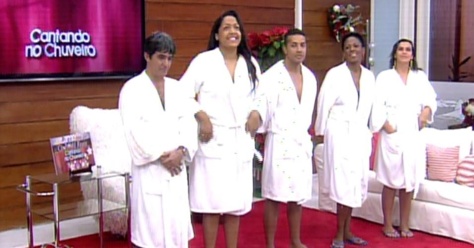 """Técnicos do """"The Voice Brasil"""" tiveram que escolher três candidatos para concorrer ao prêmio de R$ 5 mil"""