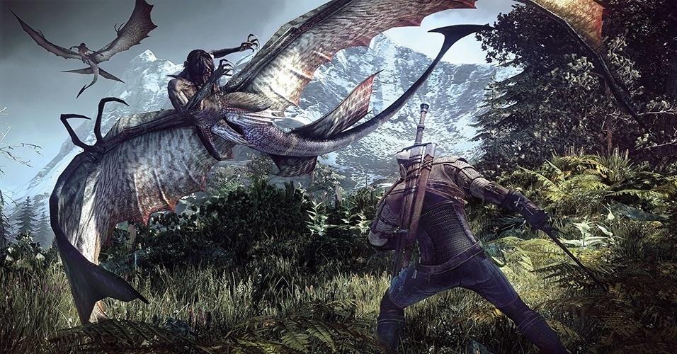 """""""The Witcher 3: Wild Hunt"""" (Windows, PS4, XBO) conclui a saga de Geralt nos games com um RPG de ação mundo aberto e detalhando sem loads"""