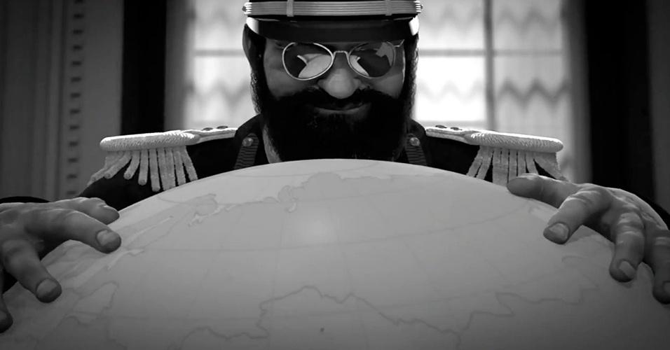 """""""Tropico 5"""" é o primeiro da série de simulação de gerenciamento a ter modos multiplayer cooperativos e competitivos, sendo também possível escolher a época do início da ditadura - do século XIX ao XXI"""
