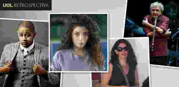 Emicida, Lorde e os cabeças do Procure Saber, Paula Lavigne e Caetano Veloso - Arte UOL