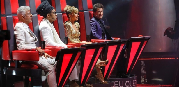 """Lulu Santos, Carlinhos Brown, Claudia Leitte e Daniel são jurados do """"The Voice"""""""