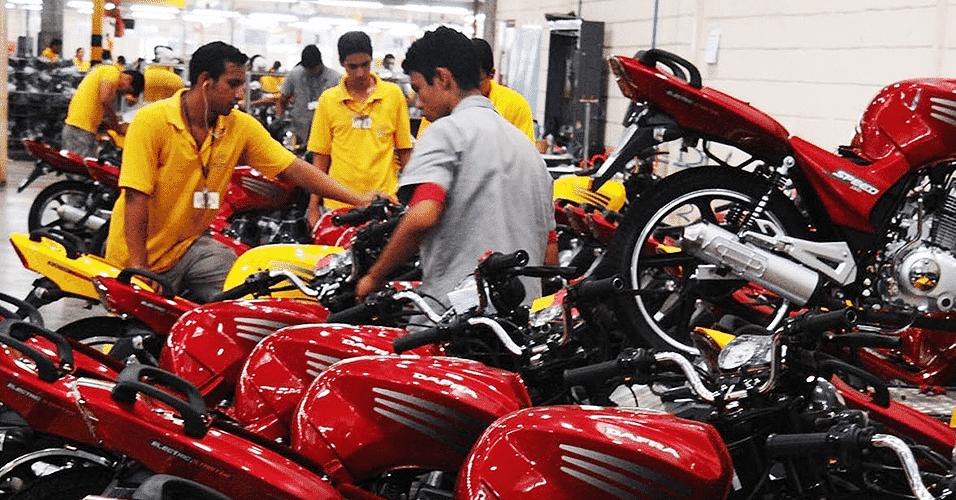 Vendas de motos no Brasil - Divulgação