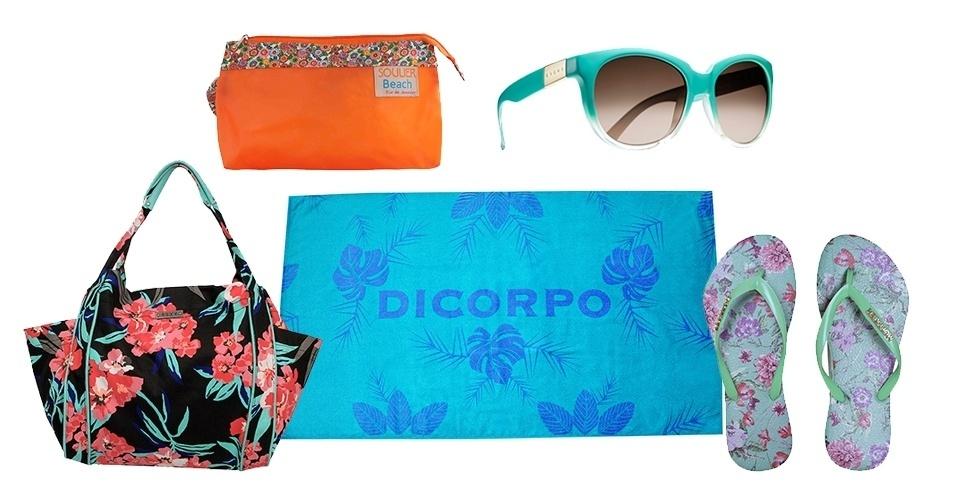 A estampa floral é uma das mais usadas na moda praia. Aproveite o tema para c1423b5048